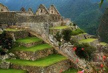 Lugares mágicos pelo mundo! / Viagens astrais, teletransporte, imaginação...vale tudo para termos um tempo pelo mundo!