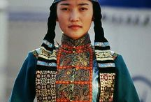 Mongolian tribal women