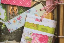 Scrapbook project (The Paper Heart) / My other passion - scrapbooking.  Here you will see - step by step - my recycled paper Home and business organiser and other paper recycling ideas.