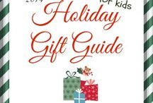 Holiday Gift Guide / Holiday gift ideas for kids. Includes fun educational toys and learning games babies, toddlers and preschoolers will love this Christmas.