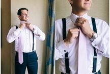 Dapper Grooms / Groom & groomsmen wedding attire and inspiration photos from Shalese Danielle, a Richmond VA wedding photographer.