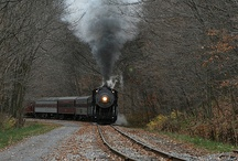 I Need To Let Off Some Steam / Steam Engine Trains And Train Related Things / by Raven M