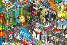 Pixel Posters and Prints / Retro 8-Bit and Pixel-Art Posters and Prints - perfect and pretty affordable solution which will help you decorate our apartment, house of office and impress our friends.