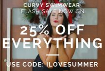Curvy Swimwear SALE - Swimwear and Swimsuits / This is the place where we will add our SALE notices but always check our Facebook or website for further details as they are only for a limited time.