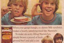 Food History - Vintage & Retro