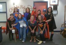 Super Heroes / Ideas for spring break camp! / by Cee Beuer