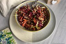Salads / Delicious vegan food - salads