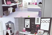 DECORAÇAO DE CASAS NO THE SIMS 4