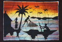 Batik africain africouleur