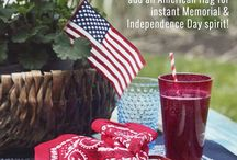 Memorial Day / Whether you are planning a picnic for two or a large party at home, here are some Memorial Day Party Ideas to give you inspiration for decor, food and DIY's!