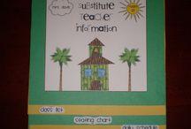 Substitute Teacher / by Martha King