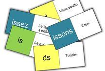 Domino pour assembler les verbes