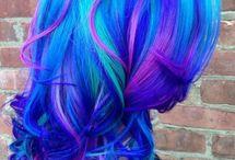 crazy hair clolor