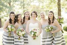 wedding party fashion / Wedding parties reinvented. Ideas for your bridesmaids and groomsmen.