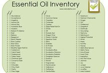 Organizing Essential Oils / Keep track of your essential oil inventory and have a spot to keep your notes. Ideas on how to organize essential oils.