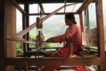 Weavers at Work / Weaving scenes from around the world that inspire...