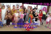 Nyári napközis tánc tábor 4-14 éves korig