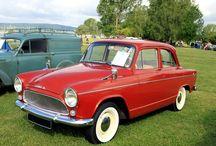Simca Etoile / De eerste auto die ik bestuurde.