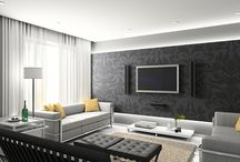 Wallpaper - tv room