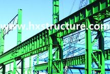 Q345 Steel for Structural Steel / Q345 Steel can be widely used in welded pipe and seamless pipe, production of container and bare metal structure, automotive industry, construction engineering structural steel, and other area.  http://www.hxstructure.com/Steel-Structure-for-Industry-Fields.htm