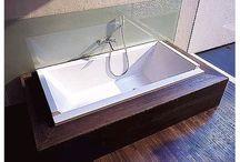 Badekar innebygd