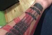 Fender jazzbass tattoo / Jazz bass tattoo
