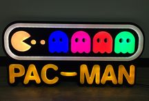 Neon signs / The new product is Leon Isik. It is like neon signs.