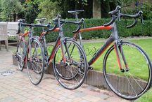 Testfietsen. / Deze fietsen kan je bij ons testen. Reserveren via www.stappenbelt.com