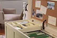Office Organizing / by Bobbi-Lyn Kirton