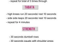 Tabata and hiit workouts