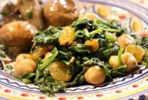 Chickpeas / Plant-based recipes starring chickpeas.