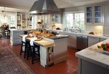 Kitchens/Dining Rooms, Vintage, Coastal / by Kristin Lundstrom Kuss