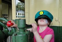 Kids, trams and museums / Kids love exploring the museum, and imagining what it would be like to drive a 20 ton tram.