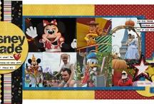 Scrapbook Ideas - Disney / by Beth Koenig