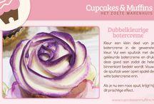 Cupcake Quick Tips / Handige tips voor nog meer cupcake plezier!