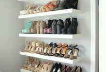 Walk-in cupboard