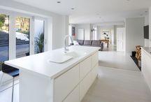Monochrome Kitchens