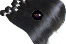 Peruvian Hair Executive Grade / This is high quality 4 star hair. This hair is 100% Human Virgin Remy Unprocessed Hair. Colour 1B. We carry sizes 12-32 inches in most styles. The hair is double wefted and comes in bundles of 50g or 100g. The hair has been tested for quality. The cuticles of the Hair is well aligned. You can bleach it to any colour of your choice. The hair can withstand heat and as such you can stlye as you want.
