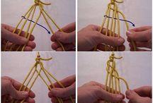 armbanden met allen touw