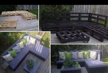 Pallet Ideas / by April Hildebrand