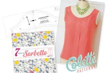 Sorbetto - Top Pattern by Colette Patterns