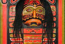 Native American Indian design / Y8 textiles inspiration board