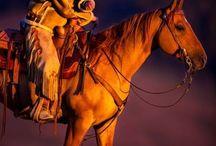 caballos / caballos y vaqueros / by fito