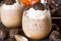 Mocha chocolate iced coffee