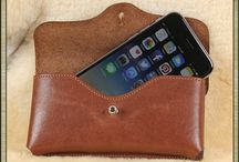 Fine Leather iPhone holsters