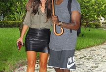 Celebrities and their brollies!