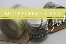 Office Accessories / by Nikki Boyd