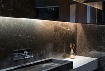 Architecture interiors bathroom