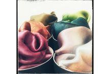 SHIBORI SILK foulards