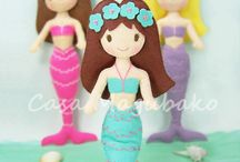 Mermaids / All the mermaid sewing inspiration you'll ever need. Perfect ideas for the mermaid-loving girl in your life (and it's not just Ariel and the Little Mermaid!).